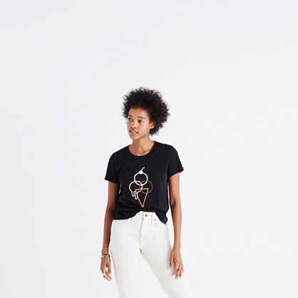 Madewell x Joey Pasko™ Ice Cream Graphic Tee