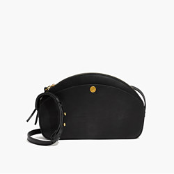 The Dakota Shoulder Bag in True Black
