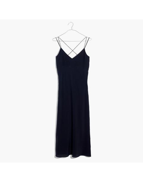 Silk Slip Dress in night vision image 4