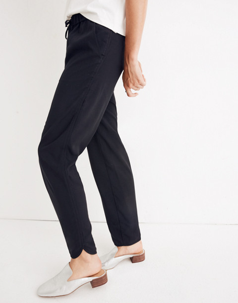 Track Trousers in true black image 2