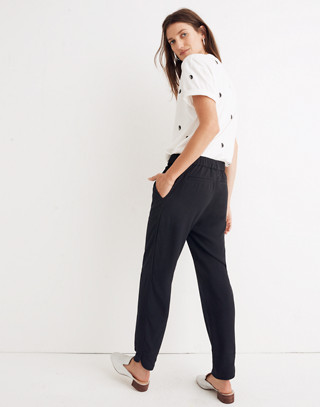 Track Trousers in true black image 3