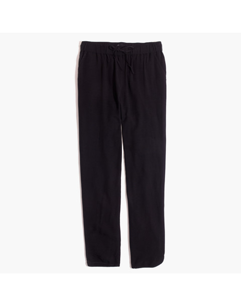 Track Trousers in true black image 4