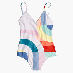 Mara Hoffman® Classic One-Piece Swimsuit in Meridian Print