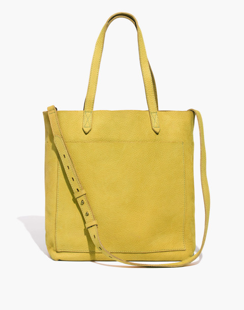 The Medium Transport Tote in vintage chartreuse image 1
