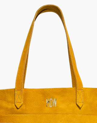 The Medium Transport Tote in celestial gold image 4