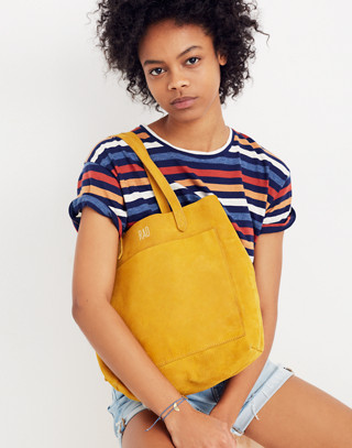 The Medium Transport Tote in celestial gold image 2