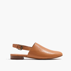 The Callie Slipper Flat in Leather
