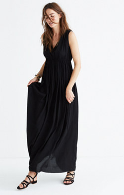 Magnolia Tie-Back Maxi Dress
