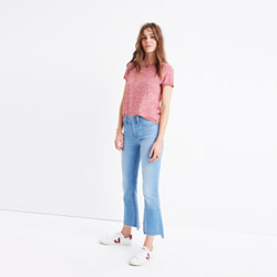 Tall Cali Demi-Boot Jeans: Step-Hem Edition