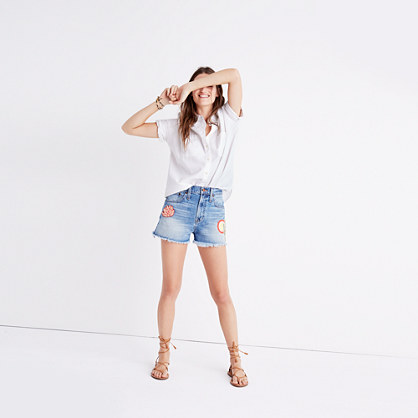 Madewell x Ft. Lonesome™ Perfect Jean Shorts