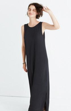 Lakeshore Button-Back Maxi Dress