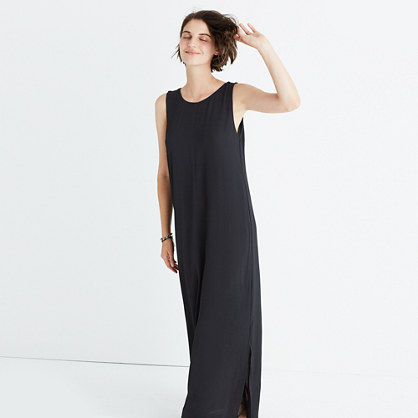 Lakeshore Button-Back Maxi Dress