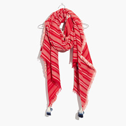 Striped Convertible Scarf