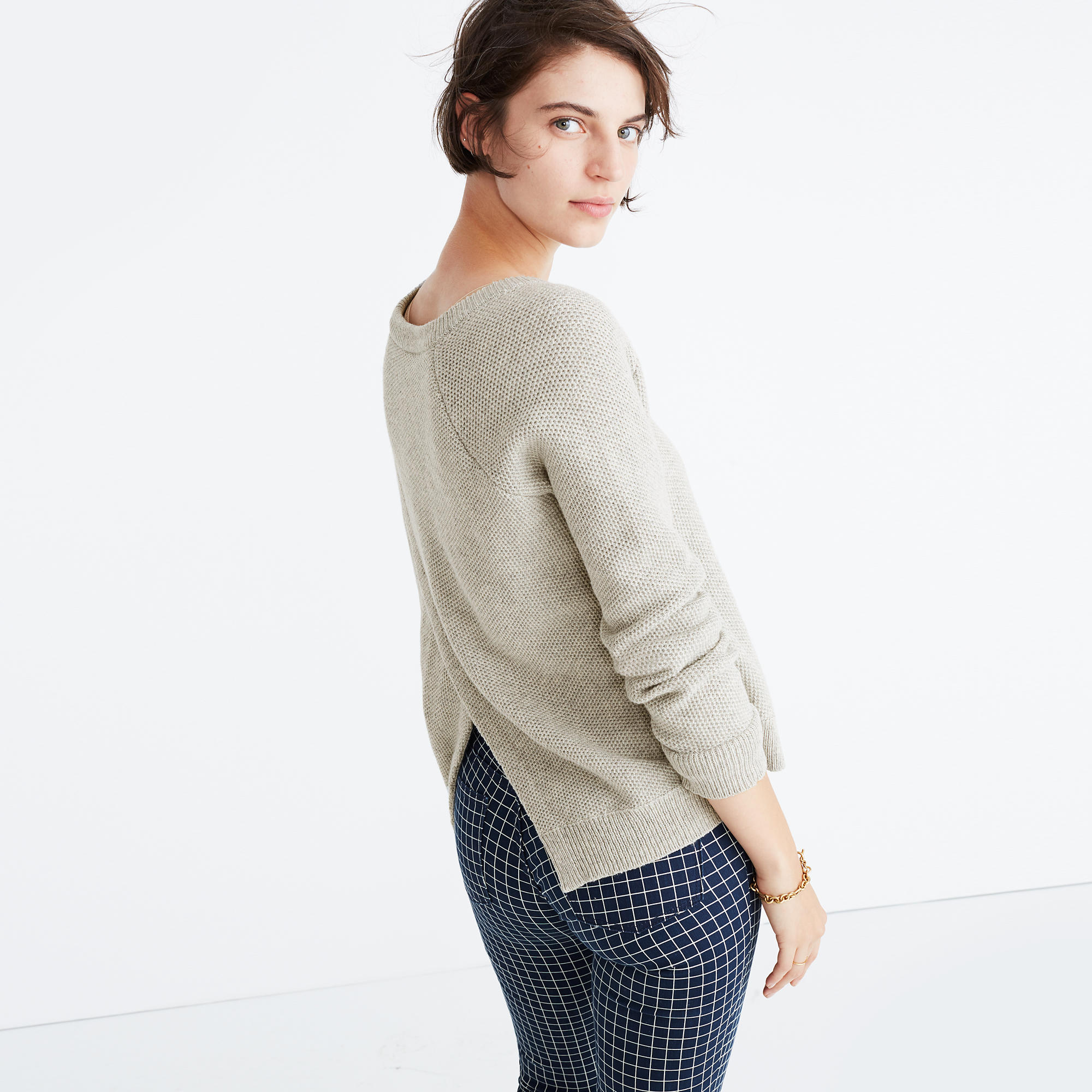 Province Cross-Back Pullover Sweater : shopmadewell pullovers ...