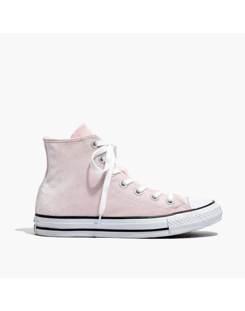 Converse® Chuck Taylor All Star High-Top Sneakers in Velvet