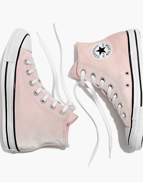 9ef78de90f00 Converse® Chuck Taylor All Star High-Top Sneakers in Velvet