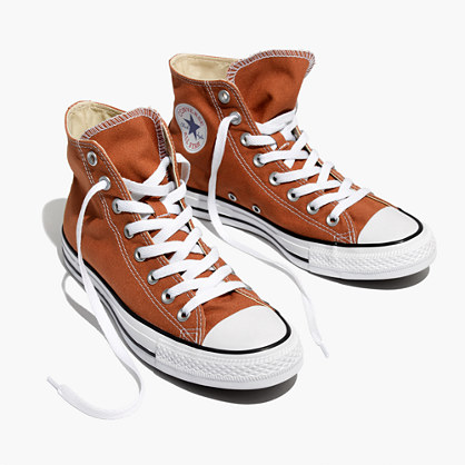 Converse® Unisex Chuck Taylor All Star High-Top Sneakers in Ochre