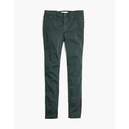 "Taller 9"" High-Rise Skinny Sateen Jeans"
