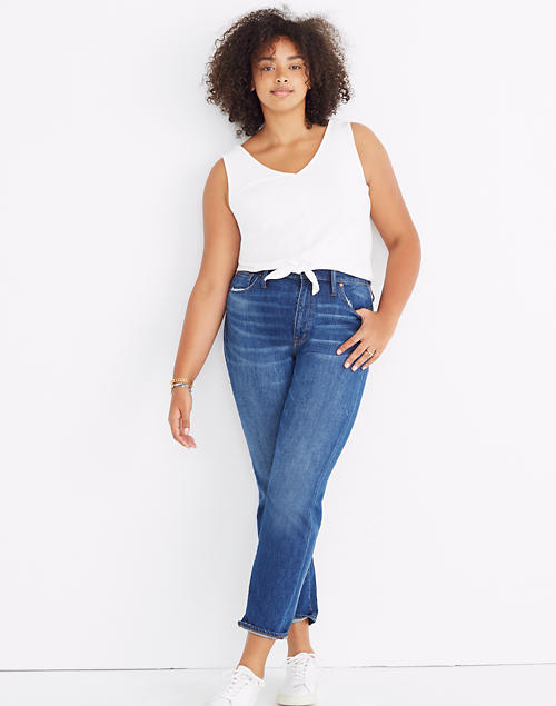 big selection hot-selling real search for official Women's High-Rise Slim Boyjean | Madewell