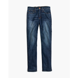Taller Slim Straight Jeans in William Wash