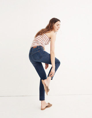 Slim Straight Jeans in William Wash in william wash image 3