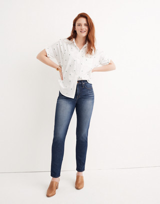 Slim Straight Jeans in William Wash in william wash image 1