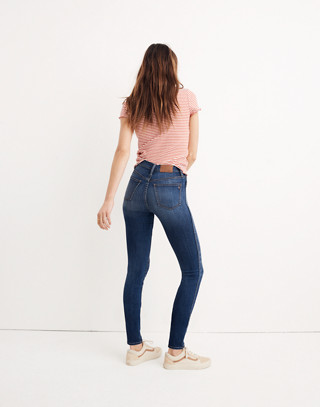 "Taller 10"" High-Rise Skinny Jeans in Danny Wash: Tencel® Edition in danny image 3"