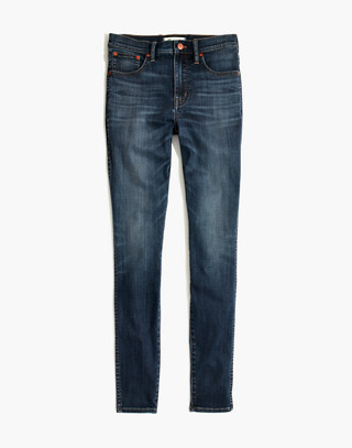 "Taller 10"" High-Rise Skinny Jeans in Danny Wash: Tencel® Edition in danny image 4"