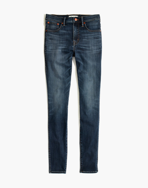 "Petite 10"" High-Rise Skinny Jeans in Danny Wash: Tencel™ Edition in danny image 4"