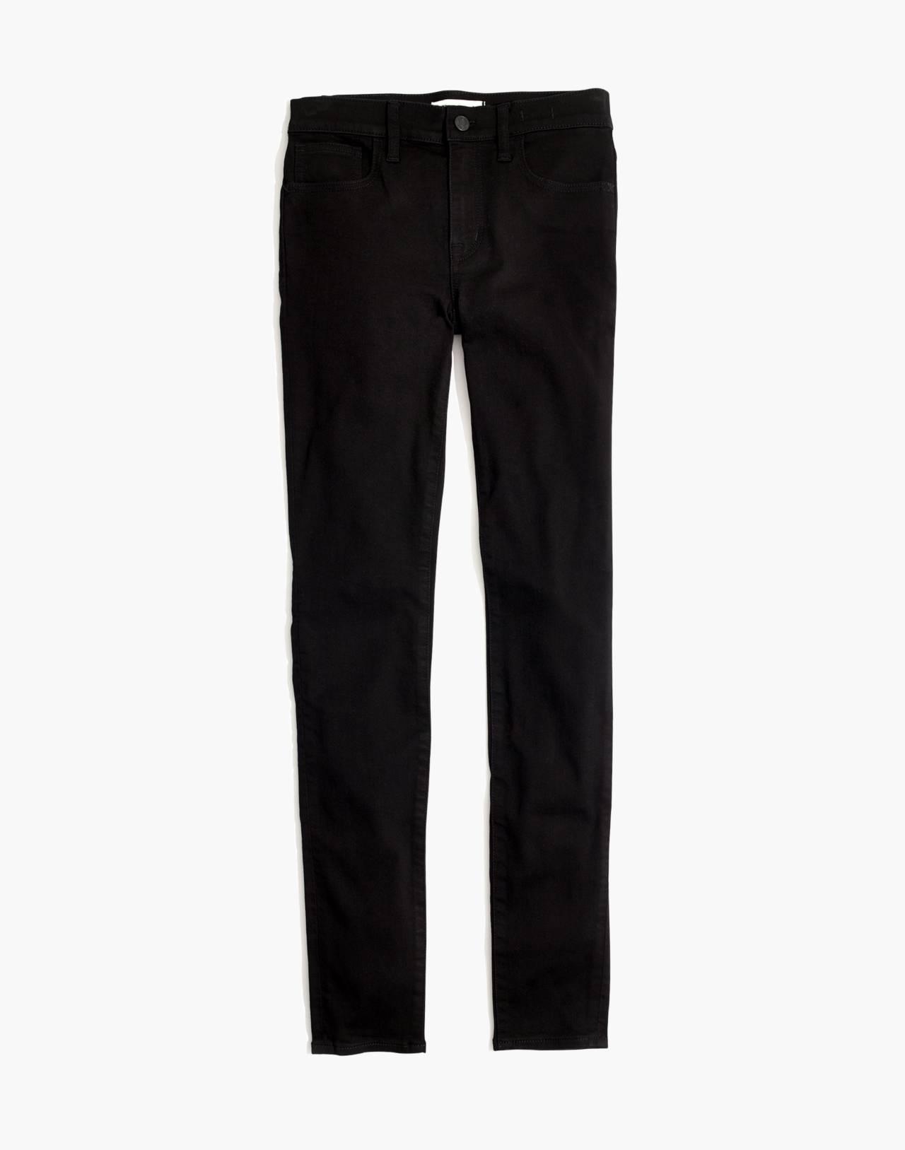 Petite Roadtripper Jeans in Bennett Black in bennett wash image 4