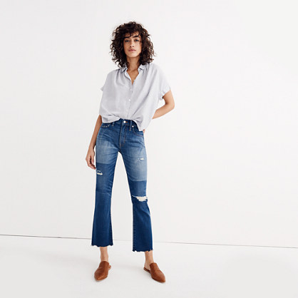 Tall Cali Demi-Boot Jeans: Unpatched Edition