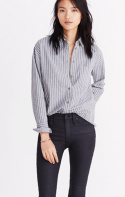Flannel Westward Shirt in Stripe