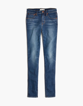 """Taller 9"""" High-Rise Skinny Jeans in Patty Wash in patty wash image 4"""