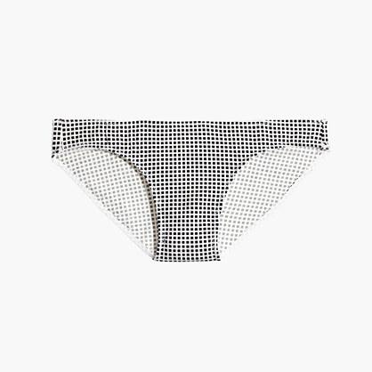 Cotton-Modal® Bikini in Gingham