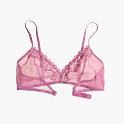 Swiss-Dot Mix Tali Bralette