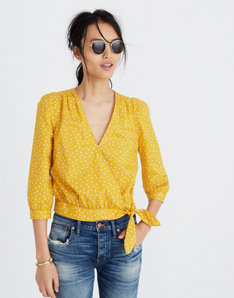 Wrap Top in Star Scatter