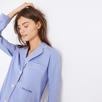 Embroidered Rise and Shine Nightshirt