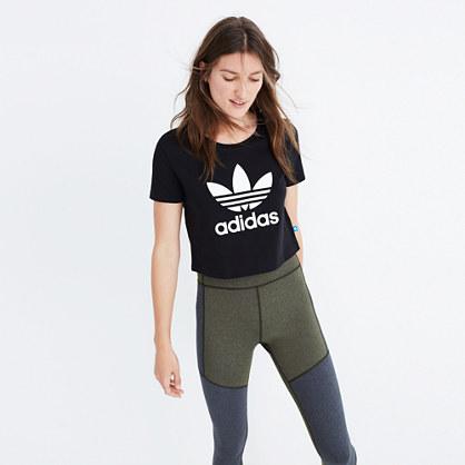 Adidas® Slim Crop Tee