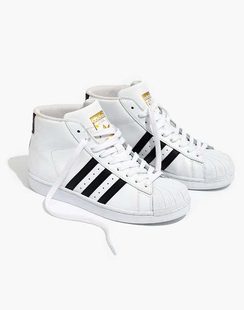 best website 1fb21 a8590 Adidas® Superstar™ Pro Model High-Top Sneakers