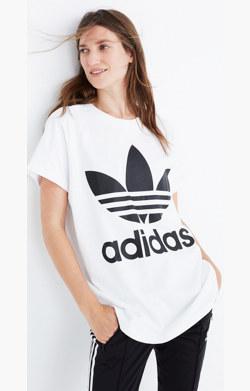 Adidas® Big Trefoil Tee
