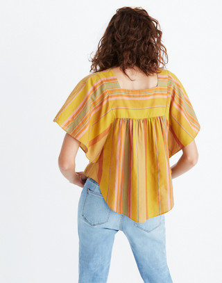 Striped Butterfly Top