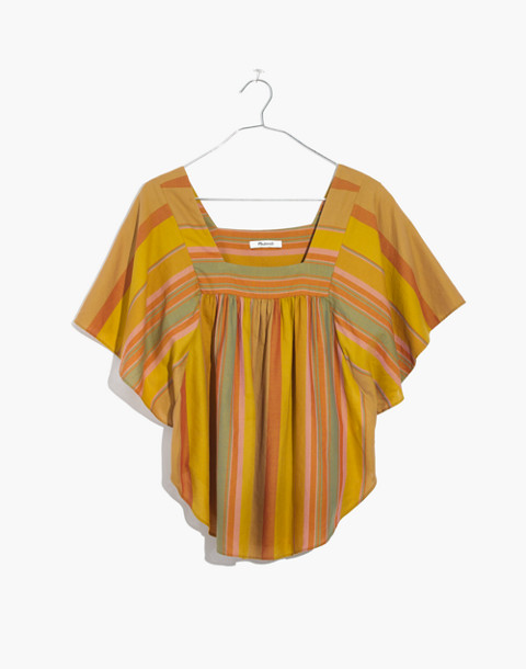 Striped Butterfly Top in multi image 4