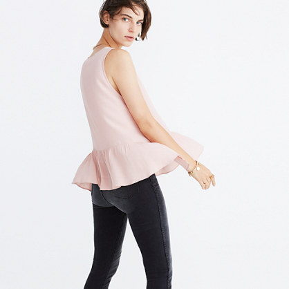 Peplum Tank Top