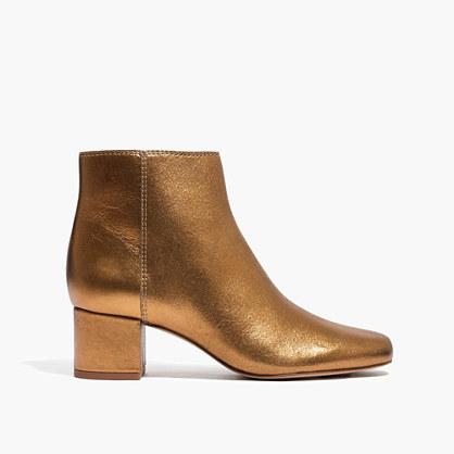 The Margot Boot in Soft Metallic