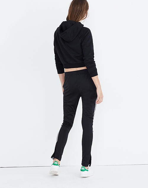 Perfectly Adidas Originals Black Black Sst Relax Cropped