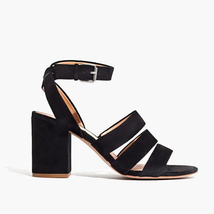 The Maria Sandal in Suede