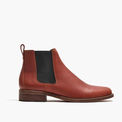 The Ainsley Chelsea Boot in Leather