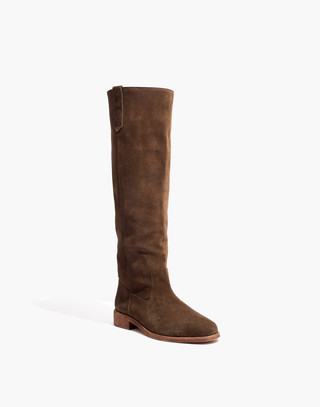The Allie Knee-High Boot With Extended Calf in mink image 2