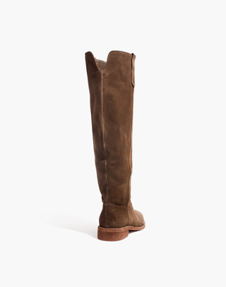 The Allie Knee-High Boot With Extended Calf in mink image 3