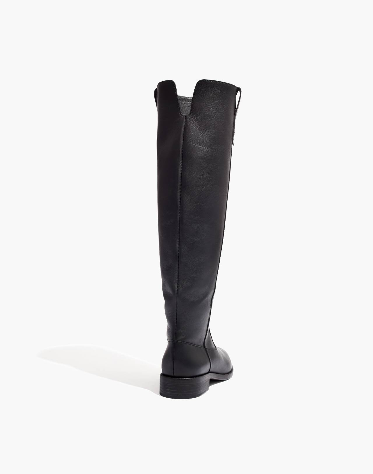 The Allie Knee-High Boot in true black image 3